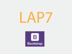 Lab 7: Sử dụng Bootstrap sửa giao diện đẹp mắt hơn