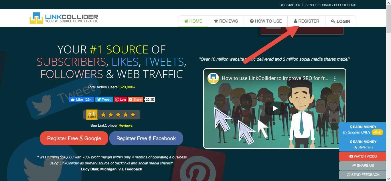 Hướng dẫn tăng like facebook và traffic website miễn phí