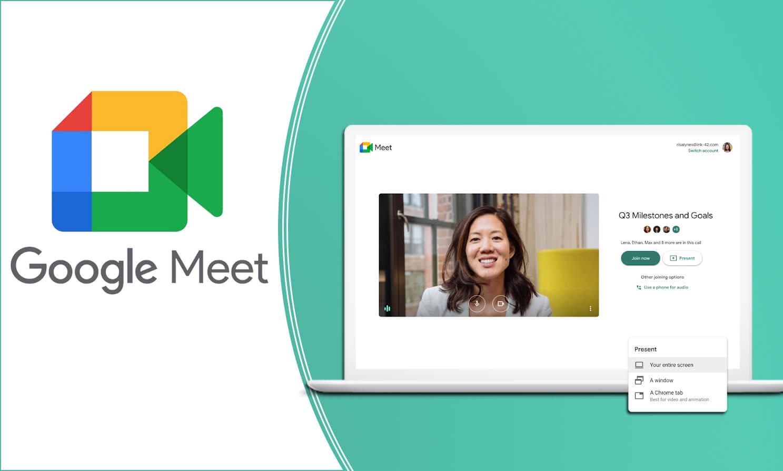 Cách đổi background trong Google Meet